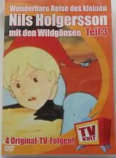 Die Wunderbare Reise des kleinen Nils Holgersson mit den Wildgänsen DVD Teil 3