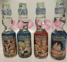 Limited edition One Piece Anime ramune marble drink soda complete 4 set FREE S/H