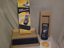 LOT 26 Texas Instruments TI calculator keyboard TI-83 TI-89 others, cables &more