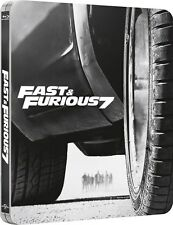 FAST AND FURIOUS 7 - STEELBOOK EDITION LIMITED (BLU-RAY) VERSIONE ESTESA