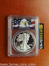 2002 W PROOF SILVER EAGLE PCGS PR70 DCAM BALD EAGLE LABEL SEE MY OTHERS