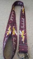 NEW_ Disney Pin / Neck  Lanyard_Child Size_TINKERBELL_Purple
