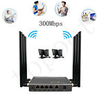 300Mbps 5-Port Wireless Router Fastest High Speed Wifi Router 802.11b/g/n Lot
