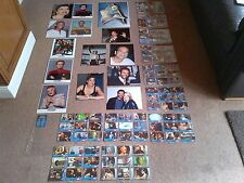 STAR TREK VOYAGER, JERI RYAN ROBINSON PHOTO PRINTS, TRADING CARDS  & SLEEVES