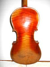 """Antique Old Vintage """"Stainer"""" 2 Pc. Back Full Size Violin - NR"""