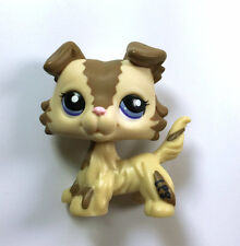 Cute Littles Pet Shop LPS Dog Collie Child Girl Loose Auction Figure Xmas