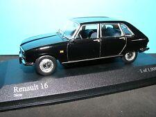 Renault 16 5 door Hatchback in Black 1965 LHD  Rare Minichamp  1:43 NLA