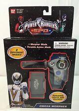 MORPHER~ Bandai Power Rangers~ HIGH GRADE SEALED~ SPD~ Omega Morpher~ b