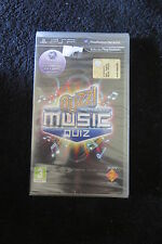 PSP : BUZZ ! : THE ULTIMATE MUSIC QUIZ - Nuovo, sigillato, ITA ! Quiz musicale !