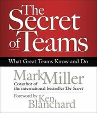 (New CD) The Secret of Teams : What Great Teams Know and Do by Mark Miller