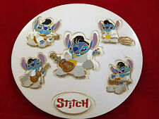 Disney Auctions (P.I.N.S.) - Stitch as Elvis 6 Pins Pin Set