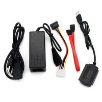 SATA/PATA/IDE to USB 2.0 Adapter Converter Cable for 2.5/3.5 Inch Hard Drive UPC