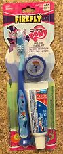 My Little Pony Child's Toothbrush Travel Kit New Crest Toothpaste + Cap