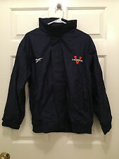 University of Virginia UVA Cavaliers Lacrosse Reebok Team Issued Jacket Large