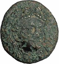 Gergis 400BC ORACLE Sibyl Herophile Sphinx Authentic Ancient Greek Coin i52560