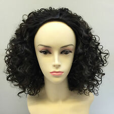 WOMENS LADIES GIRLS FASHION HALF WIGS WELSH CURLY SHORT WIGS COLOUR (4)