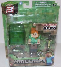 NEW Minecraft Overworld Alex Action Figure
