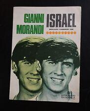 SPARTITO MUSICALE  GIANNI MORANDI  ISRAEL