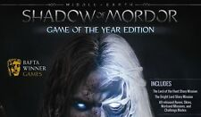 Middle-Earth: Shadow of Mordor - Game of the year GOTY - PC STEAM KEY