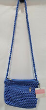Lina Blue Weave Purse NEW Evening Bag