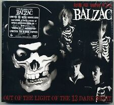 Balzac - Out Of The Light Of The 13 Dark Night CD + BONUS DVD Horrorpunk Misfits