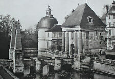 Châteaux de France Bourgogne Tanlay (Yonne) Ed. Massin vers 1910 39 x 26 cm