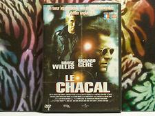 DVD d'occasion en très bon état - Film : Le chacal avec Bruce Willis Passionnant