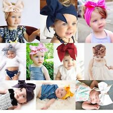 10Pcs Kids Girl Baby Toddler Bow Headband Hair Band Accessories Headwear USXN