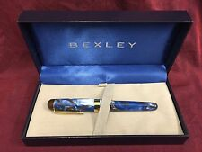 Bexley Fountain Pen BX802 - Blue Pearl - Limited Production!  *TFTA Exclusive*