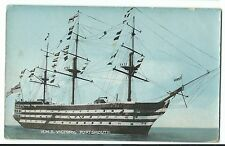 HMS Victory, Portsmouth PPC, 1919 PMK From Member of WRB Mess, RNB Portsmouth
