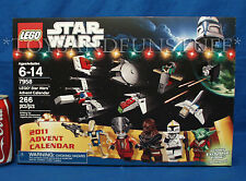 NEW - Lego 7958 - STAR WARS ADVENT CALENDAR - Christmas YODA Exclusive - SEALED