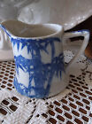 Asian Blue and White Bamboo Pattern Creamer
