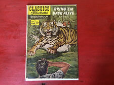 Classics Illustrated No. 104 Bring 'Em Back Alive Feb. 1958