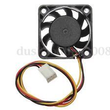 CPU Ventilateur Fan Refoidisseur Radiateur 40x40x10mm Pr Ordinateur PC 12V 3 Pin