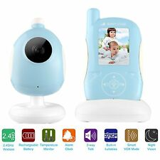 Color Wireless Digital 2.4G Audio Video Baby Monitor Camera Night Vision (E1B)