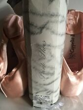 Chacott Coppelia II  Ballet Pointe Shoes 39 E Hard Shank Freed Of London NIB