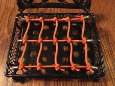 Orange..RC Scale Roof Cargo Net For AXIAL SCX10.RC4WD.WRAITH.All RC RIGS.