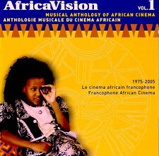 New! AFRICAVISION VOL. 1 Musical Anthology Of African Cinema 1975-2005 CD SEALED