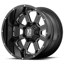 "20 Inch Black Wheels Rims LIFTED Dodge RAM 1500 Truck XD Series Buck 20x12"" 4"