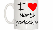 I Love Heart North Yorkshire Mug