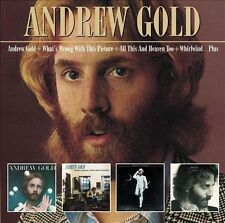3 CD ANDREW GOLD What's Wrong with This Picture All This & Heaven Too Whirlwind