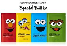 It's Skin x Sesame Street Mask Sheet 4ea Elmo Big Bird Cookie Monster OSCAR