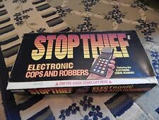 Vintage Stop Thief Electronic Board Game, 1979 Parker Brother, In Original Box