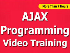 AJAX Programming language video training tutorial CBT - 7+ Hours