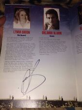 ORLANDO BLOOM SIGNED IN CELEBRATION THEATRE PROGRAMME ZULU TROY IN BLACK SHARPIE