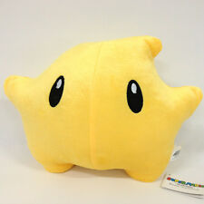 "Super Mario Galaxy Luma Star Plush Soft Toy Stuffed Animal Doll Teddy 11"" NWT"