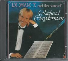 RICHARD CLAYDERMAN - Romance and the piano of CD Album 16TR 1989 HOLLAND PRINT