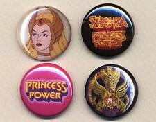 She-Ra Badges four Button Pins set !