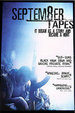 September Tapes, Very Good DVD, Wali Zarif, Sunil Sadarangani, Wali Razaqi, Geor