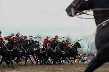 741068 The Charge Royal Canadian Mounted Police Musical Ride Ottawa Canada A4 Ph
